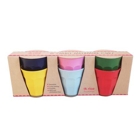 Rice Melamin Becher Klein Favorite Colors 6er-Set
