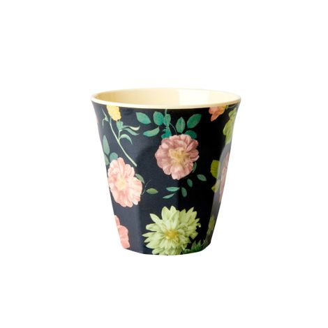 Rice Melamin Becher Dark Rose