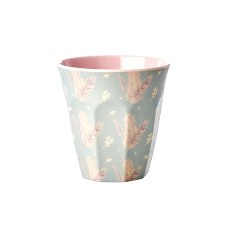 Rice Melamin Becher Feather Two Tone