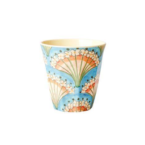 Rice Melamin Becher Flower Fan
