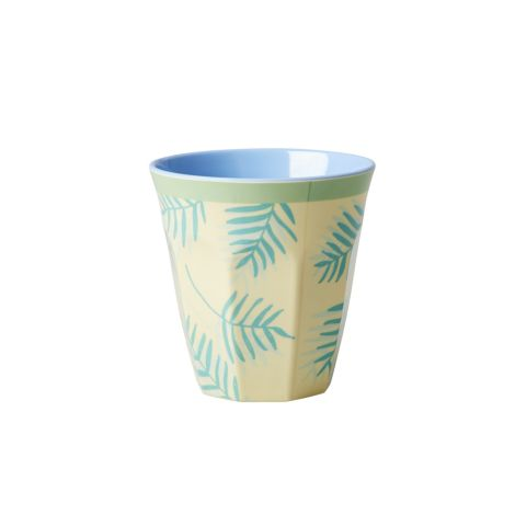 Rice Melamin Becher Two Tone Palm Leaves