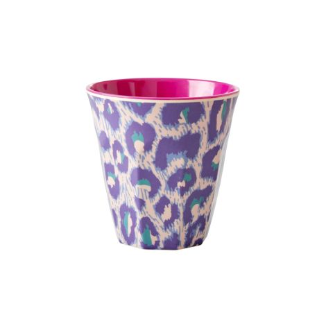 Rice Melamin Becher Two Tone Leopard
