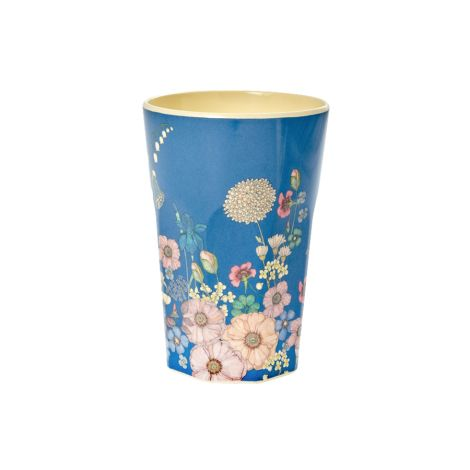 Rice Melamin Latte Cup Becher Flower Collage