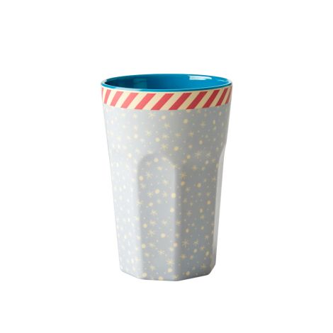 Rice Melamin Becher Snowflake Two Tone Groß