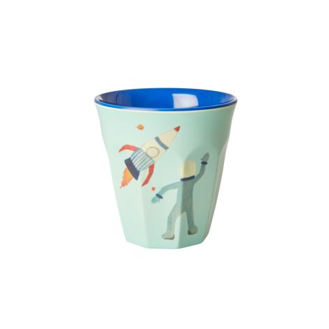 Rice Melamin Becher Space Two Tone