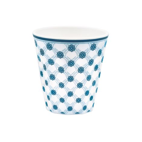 GreenGate Melamin Becher Lolly Blue •
