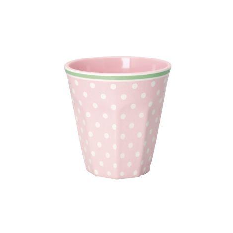 GreenGate Melamin Becher Spot Pale Pink •