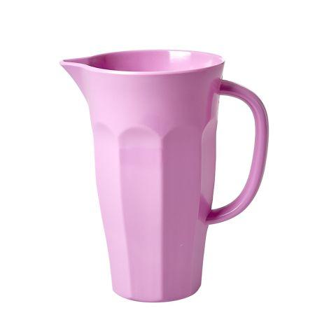 Rice Melamin Krug Pitcher Dark Pink 1 L
