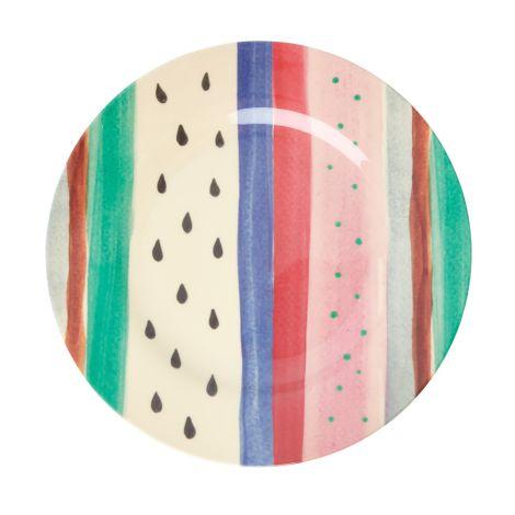 Rice Melamin Speiseteller Louise's Stripe