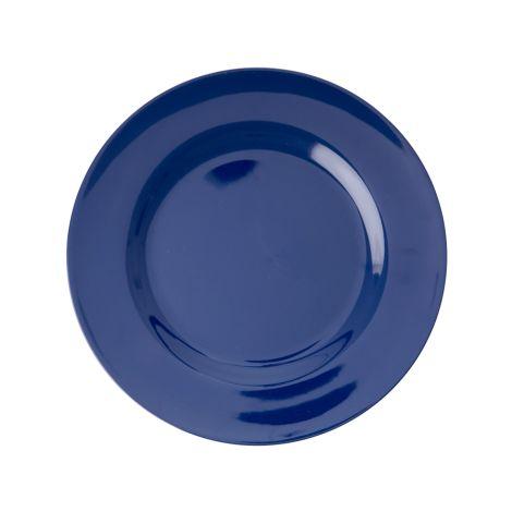 Rice Melamin Teller Navy Blue