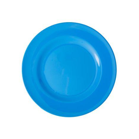 Rice Melamin Speiseteller Ocean Blue