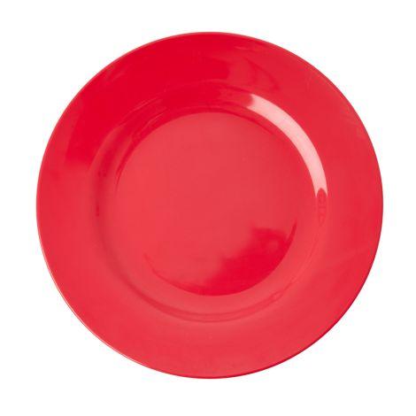 Rice Melamin Speiseteller Red Kiss