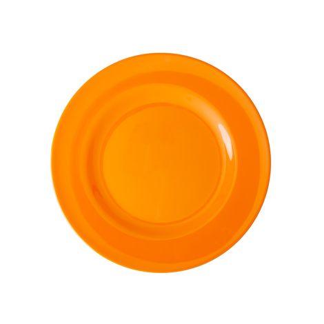 Rice Melamin Speiseteller Tangerine