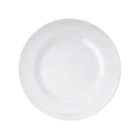 Rice Melamin Teller White