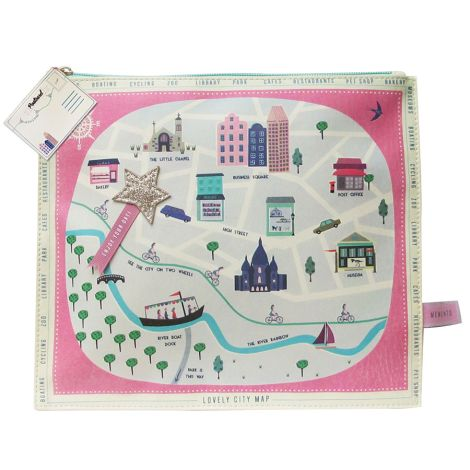 Disaster Designs Make-Up Tasche Memento City •