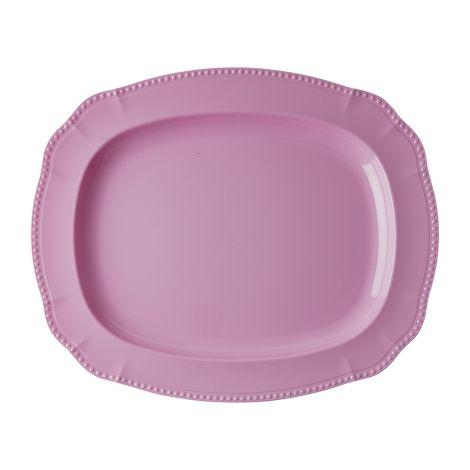 Rice Melamin Servierteller Dark Pink