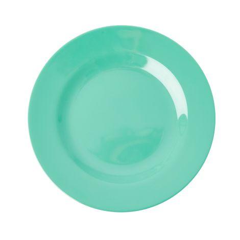 Rice Melamin Teller Emerald Green