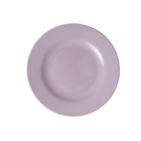 Rice Melamin Teller Soft Lavender