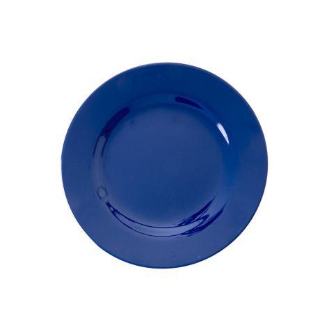 Rice Melamin Teller Navy Blue 20 cm