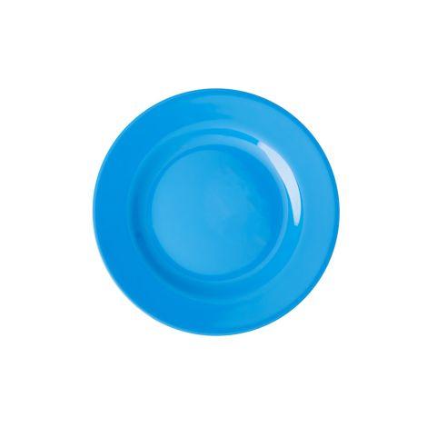 Rice Melamin Teller Ocean Blue