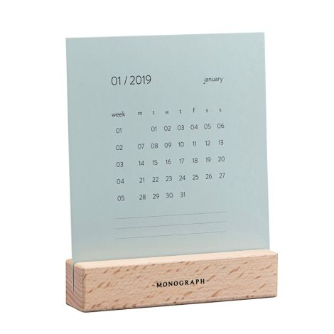 Monograph by House Doctor Tisch-Kalender Turn