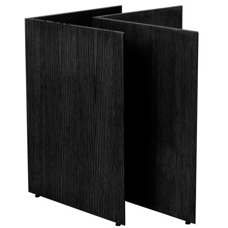 ferm LIVING Tischbeine Mingle Wood Black Veneer 68 cm