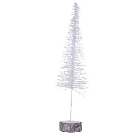 House Doctor Dekobaum Tree Sparkle Weiß glitter L •
