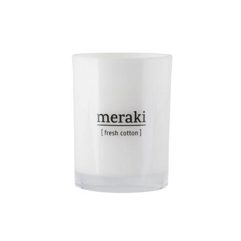 Meraki Duftkerze Fresh Cotton