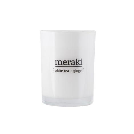 Meraki Duftkerze White Tea & Ginger