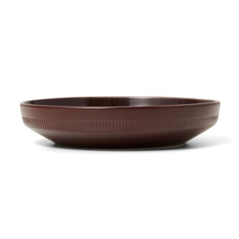 Marc O'Polo Tiefer Teller Moments Earth Brown 21,5 cm