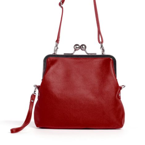 Sticks and Stones Ledertasche Monaco Red