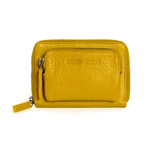 Sticks and Stones Portemonnaie Montana Yellow Washed