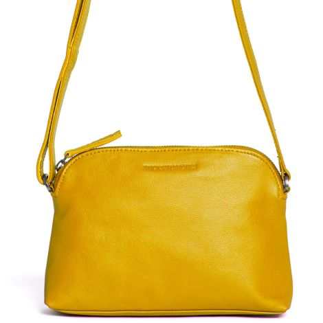 Sticks and Stones Ledertasche Myra Yellow Washed
