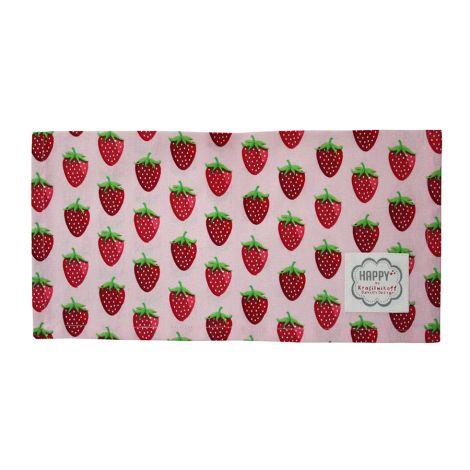 Krasilnikoff Stoffserviette Strawberry Pink •