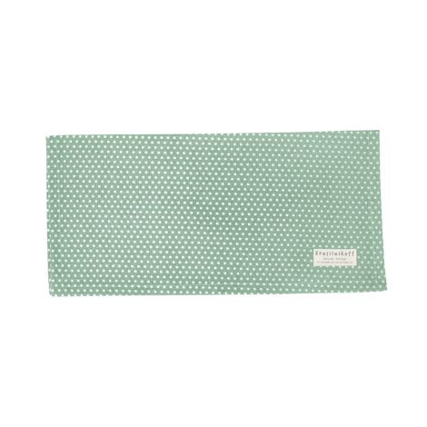 Krasilnikoff Stoffserviette Micro Dots dusty green