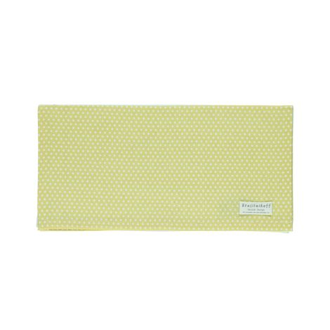 Krasilnikoff Stoffserviette Micro Dots Dusty yellow