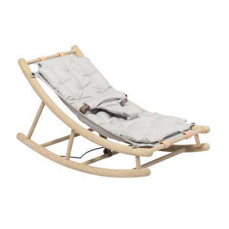 Oliver Furniture Baby- & Kleinkindwippe Wood Eiche/Grau