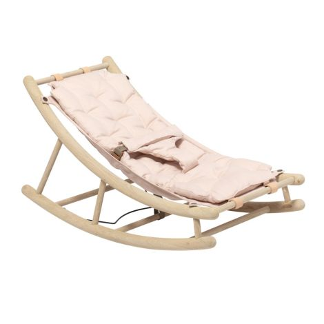 Oliver Furniture Baby- & Kleinkindwippe Wood Eiche/Rosa