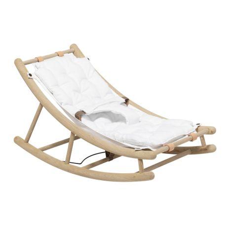 Oliver Furniture Baby- & Kleinkindwippe Wood Eiche/ Weiß