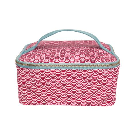 GreenGate Cooler Lunchbag Nancy Red •