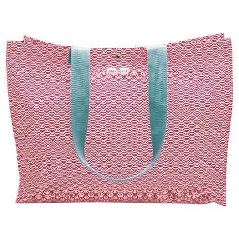 GreenGate Tasche Shopper Nancy Red •