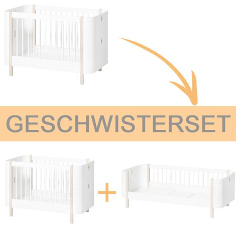 Oliver Furniture Wood Mini+ Geschwisterset - Ergänzung für Mini+ Basic