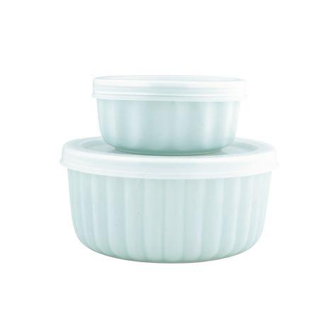 GreenGate Ofenform Aufbewahrungsdose Alice Pale Blue 2er-Set