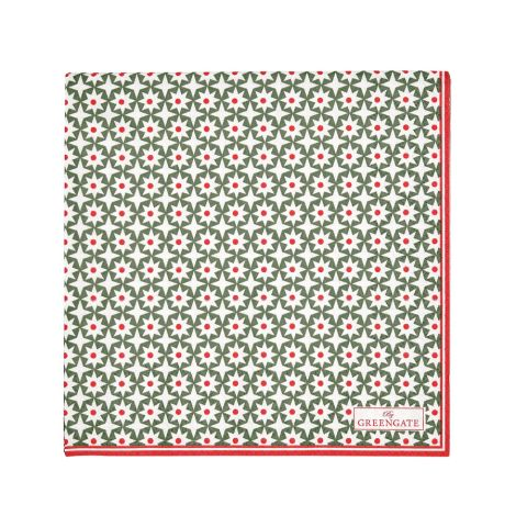 GreenGate Papierserviette Lara Green Large 20 Stk.