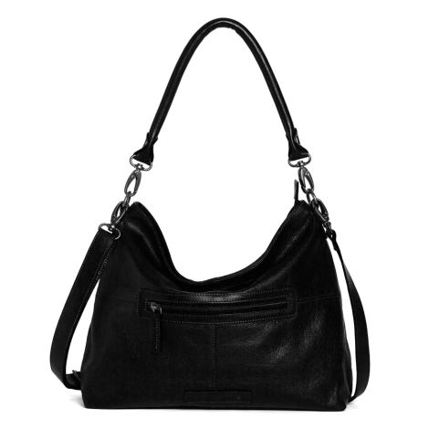Sticks and Stones Ledertasche Paris Black Washed