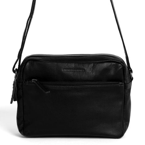 Sticks and Stones Ledertasche Pasadena Black Washed