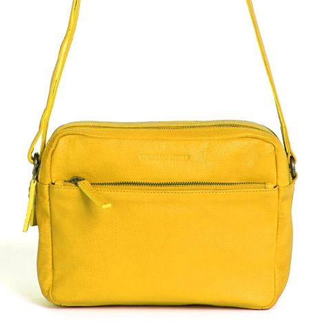 Sticks and Stones Ledertasche Pasadena Yellow Washed