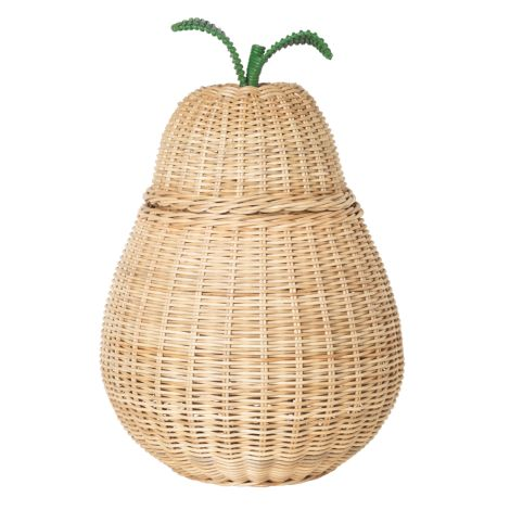 ferm LIVING Spielzeugkorb Pear