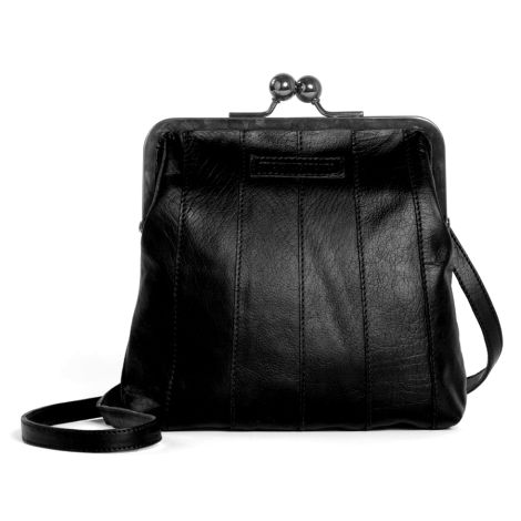Sticks and Stones Ledertasche Perugia Black Washed