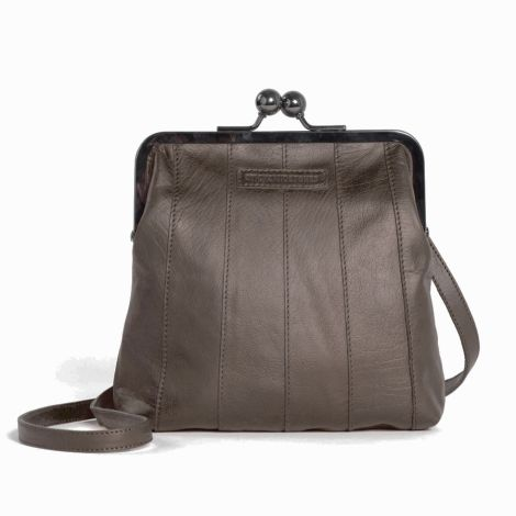 Sticks and Stones Ledertasche Perugia Sparrow Washed •